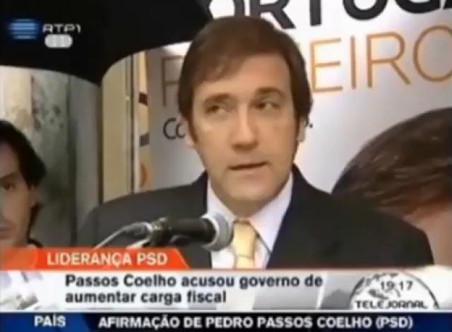 """""""Toda a Verdade (e Mentira)"""" sobre Pedro Passos Coelho"""