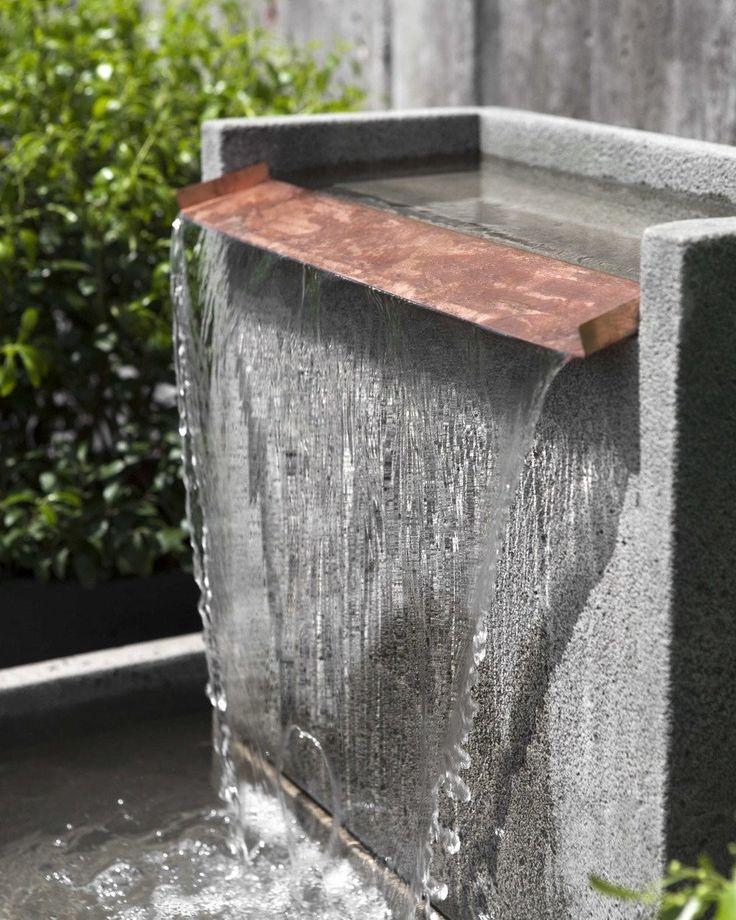 falling water ii garden fountain