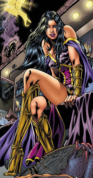 Giselle dieciocho comics
