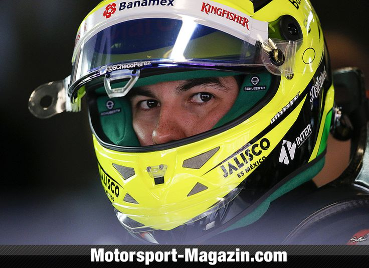 Sergio Perez Sahara Force India 2016