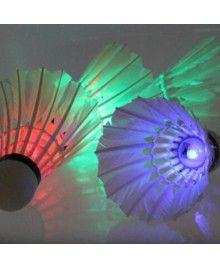 4 Piece Colorful LED Badminton Shuttlecock