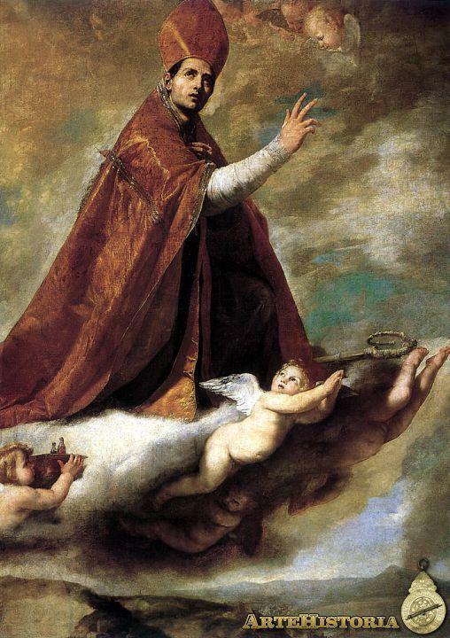 San Genaro en gloria (Salamaca) - 1637