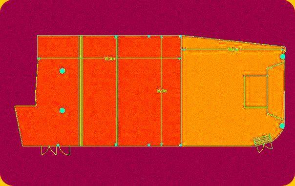''Plataniotis Hall''  Floorplan