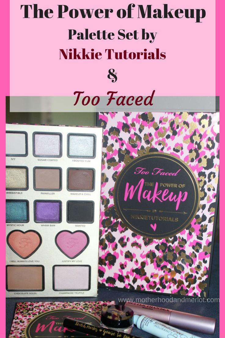 The Power of Makeup Palette Makeup palette, Nikkie