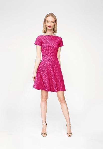 Wrap Dress   Circle Dress Mini in Orchid Cameo Cloth   Shop   Leota