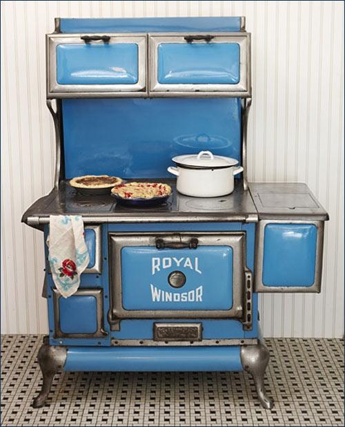 # Fogão aço e ferro da Royal Windsor de 1920. #