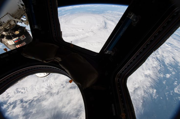 Hurricane Harvey Seen From the Cupola of the International Space Station #NASA Image of the day #photograhpy #photooftheday