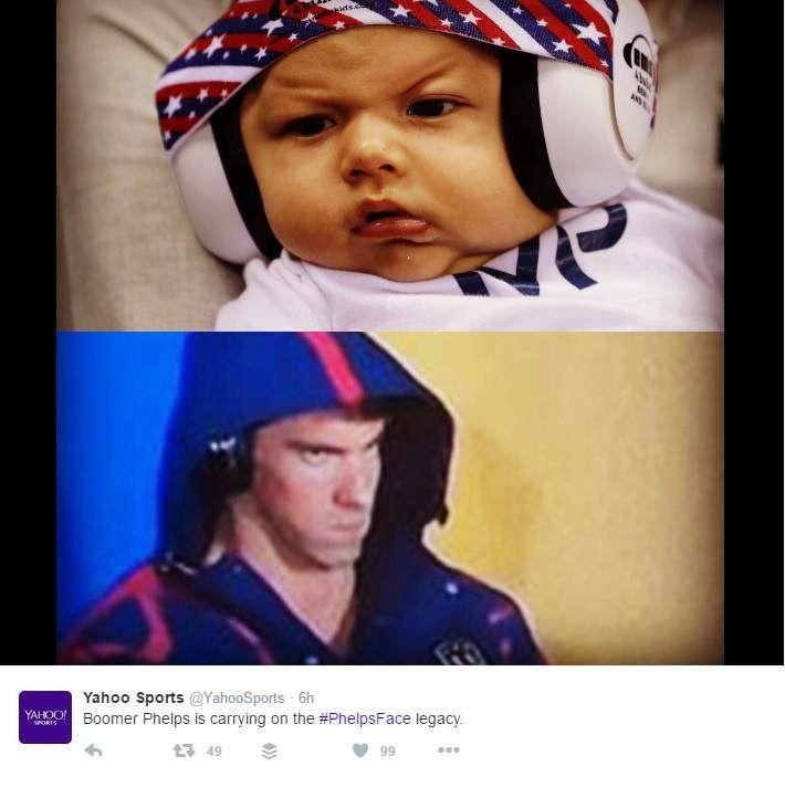 #PhelpsFace, PhelpsFace, Michael Phelps Meme