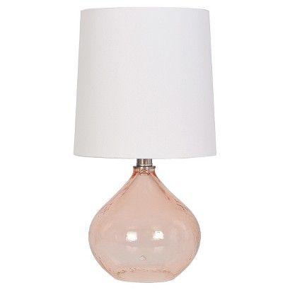 Artisan Glass Accent Lamp - Threshold™ - BLUSH