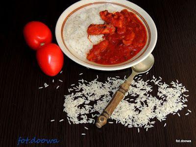 Moje Małe Czarowanie: Kałamarnica duszona w czerwonym winie z pomidorami...