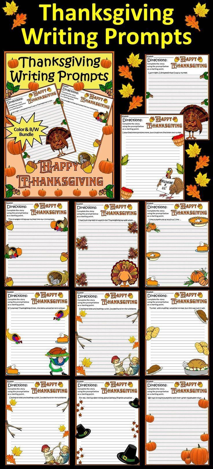 images about thanksgiving best creations tpt from pre k to 7th grade