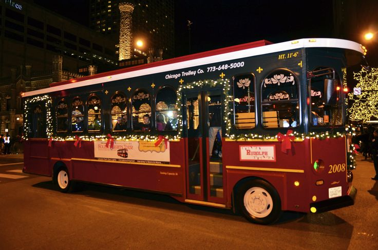 Chicago Trolley Holiday Lights Tour – Enjoy Three Chicago Attractions