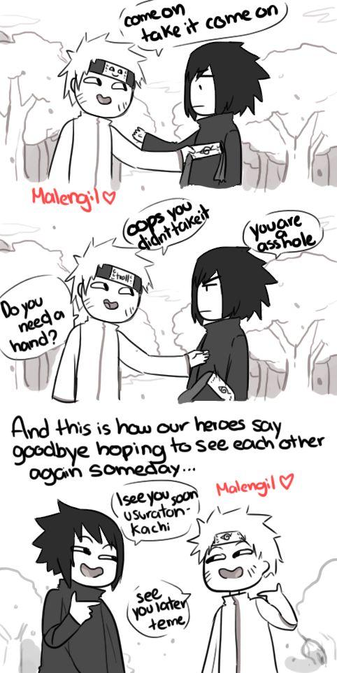 Naruto Shippuden 699 parody fan comic by malengil. Page 9