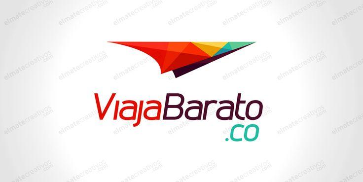 Diseño de logo para empresa dedicada a ofrecer tiquetes aéreos, los más baratos, además de turismo, viajes, paseos, paquetes, diversión, conociendo parques temáticos, y sitios turísticos del mundo, viajes de negocios, y viajes de placer. (Colombia)