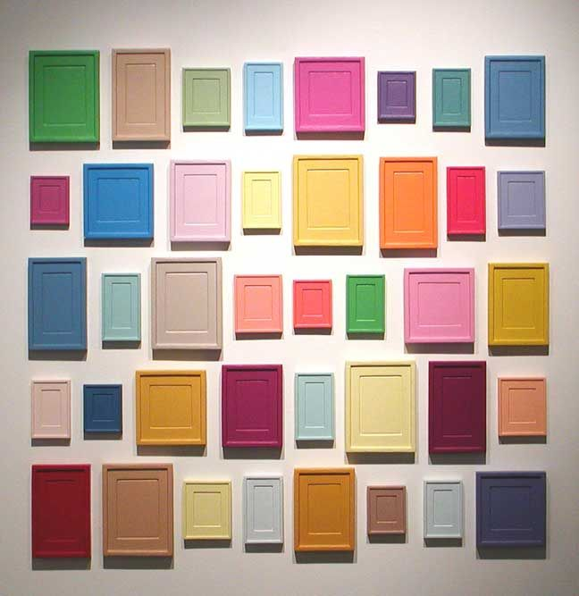 Collection of Forty Plaster Surrogates - Allan McCollum