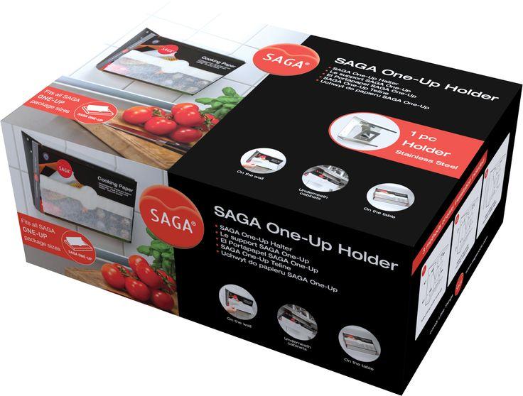 Pennanen Design - Packaging design for SAGA One-Up Holder.