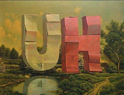 Los Angeles, CA Artist Wayne White #art