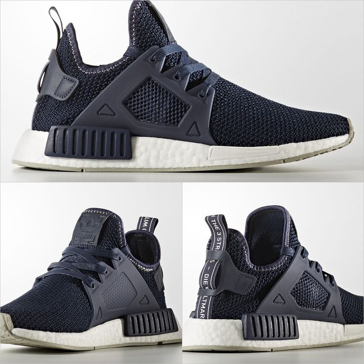Triple Black Boost On The adidas NMD XR1