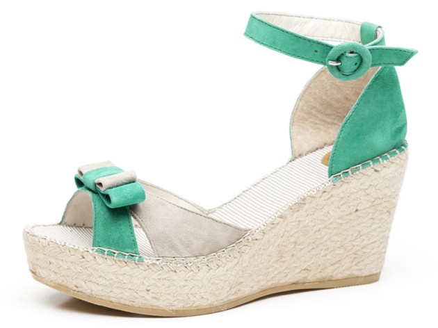 Jute espadrille fashion, exclusive design and in-house manufacture