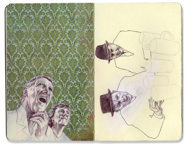 Sketchbook vol.1 - Jason Ratliff