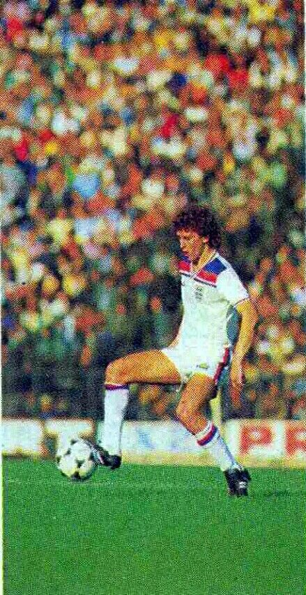 Bryan Robson of England in 1981.