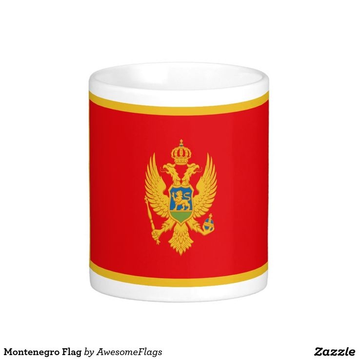 Montenegro Flag Basic White Mug
