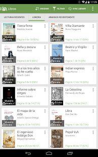 Aldiko Book Reader: Lector de libros para dispositivos Android. Puedes leer tus libros cuando quieras. Ofrece múltiples opciones, diferentes formatos. Leer fácilmente y donde quieras!!