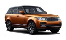 The  Range Rover Supercharged