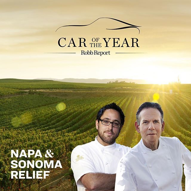 Join some of Northern California's most iconic culinary names - including @Chefthomaskeller and Christopher Kostow for the once-in-a-lifetime opportunity to test-drive the latest models from @Astonmartinlagonda @Audi @BMW @Ferrari @Lamborghini and more through the winding roads of #CaliforniaWineCountry. Proceeds benefit #NapaSonomaRelief. #NapaStrong via ROBB REPORT MAGAZINE OFFICIAL INSTAGRAM - Luxury  Lifestyle  Style  Travel  Tech  Gadgets  Jewelry  Cars  Aviation  Entertainment  Boating…