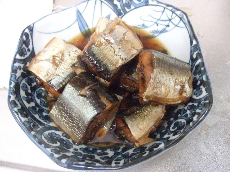 さんまの甘露煮です。骨はあったのか?という状態になります。ただ、圧力鍋必須です。 レシピの基本は渋谷のマスター直伝です。