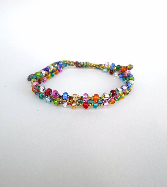 Glass bead bracelet Seed bead bracelet Beaded bracelet