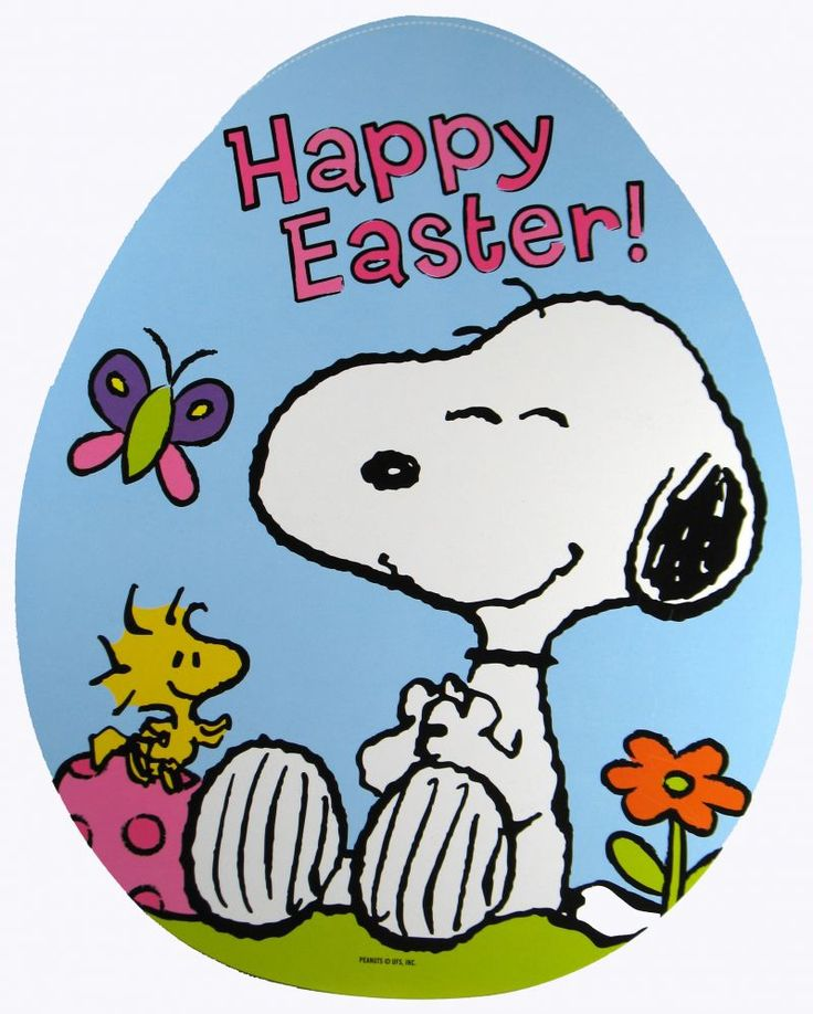 easter images of Snoopy | Snoopy Easter Egg Wall Decor - REDUCED PRICE!