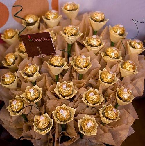 chocolate bouquet!