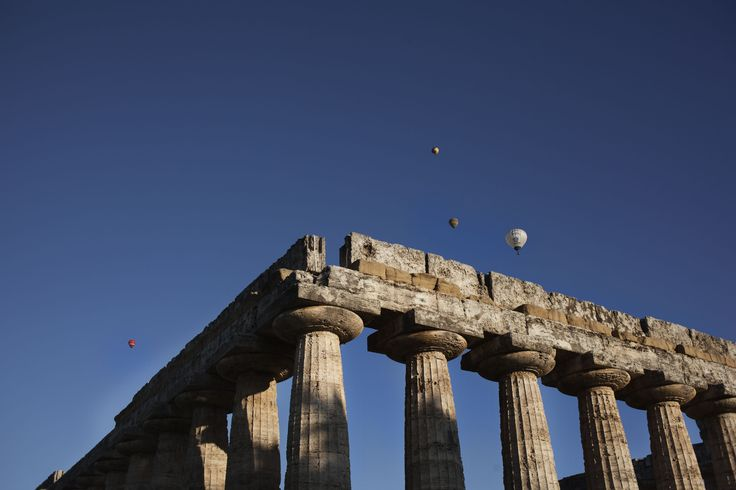 Mongolfiere nel cielo di Paestum | © Machi di Pace (machijones) - Campaniasuweb