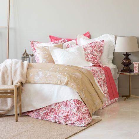 Édredon et housse de coussin broderie fleur - Édredons - Lit | Zara Home Canada