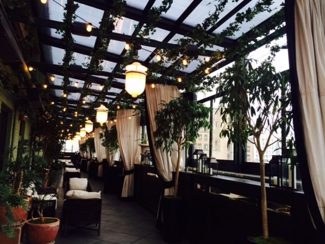 Roll-A-Cover's Retractable Rooftop Enclosure at the Gramercy Park Hotel in  New York