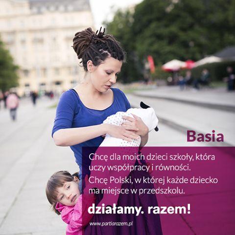 Przychodzi dzień, kiedy trzeba powiedzieć dość. Pochodzimy z różnych miejsc, różnych środowisk. Łączy nas jedno - zaczęłyśmy działać. http://www.partiarazem.pl