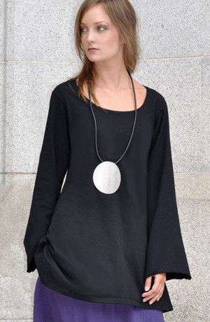 Bell Tunic in Black Tokyo