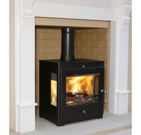 Bohemia X40 Cube Panorama Multifuel Defra Stove - Direct Stoves