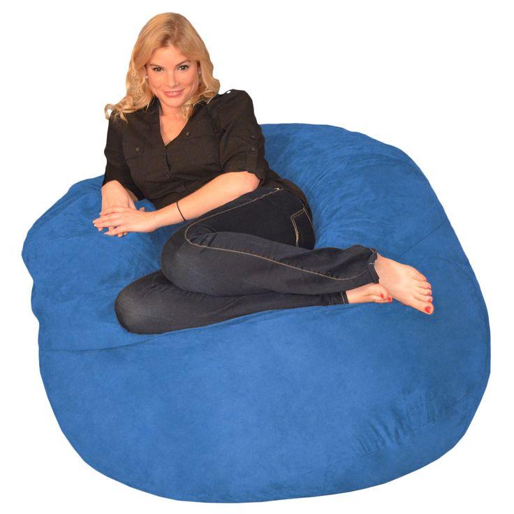 Memory Foam Bean Bag 4-foot Chair