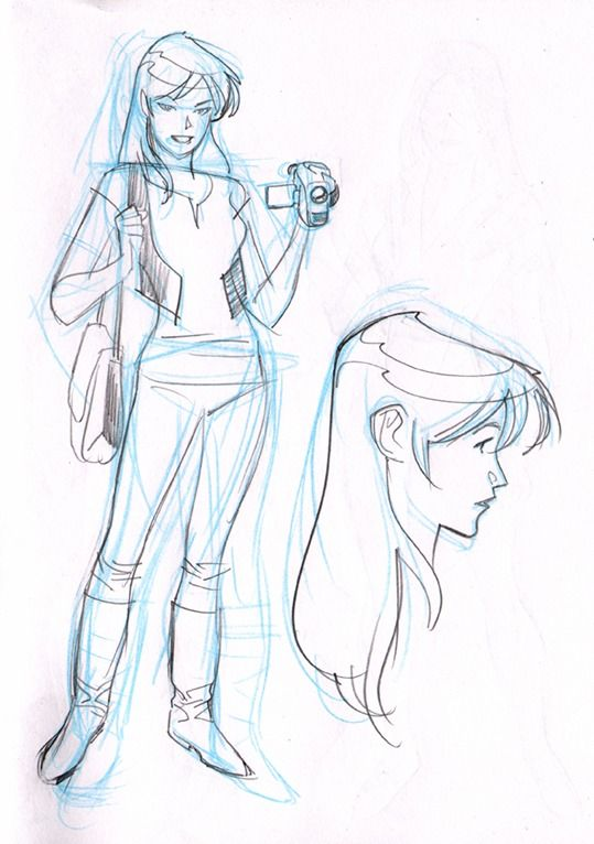 Cartooning Ultimate Character Design Book : Mary jane by stuart immonen ultimate spiderman cartoon