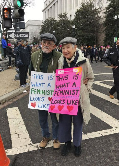 Women's March 2017 poster: This is what a feminist looks like the cutest thing ive seen all day