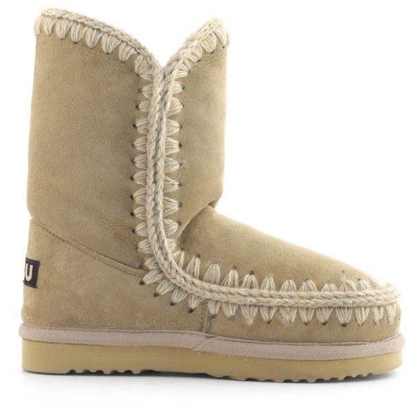 Mou Eskimo Short Boots Camel - MOU