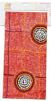 Warlukurlangu Teatowel Cotton - 47cm x 73cm Artist:  Debbie Brown Code:  TT33 Price:  $12.00 or 2 for $22.00