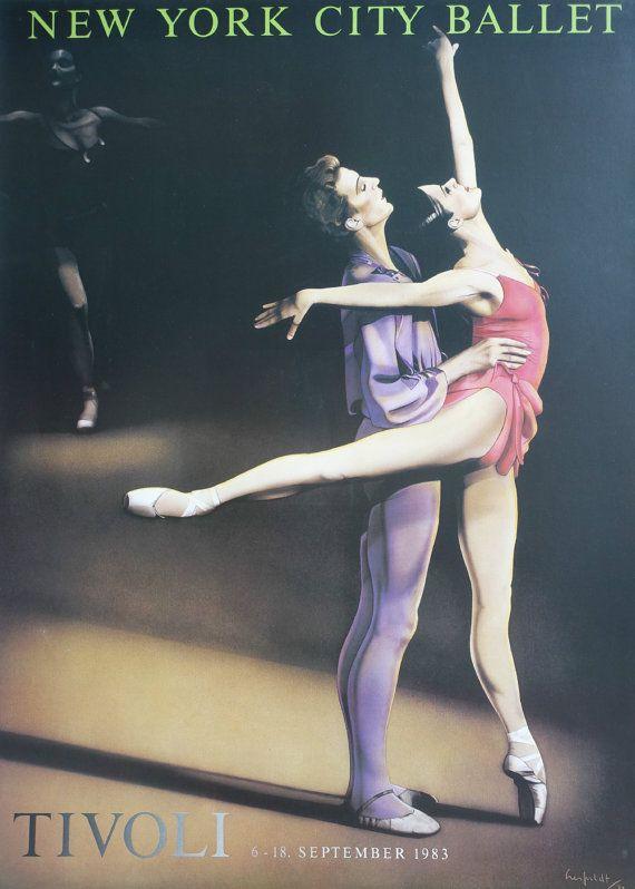 1983 New York City Ballet in Tivoli  Original by OutofCopenhagen