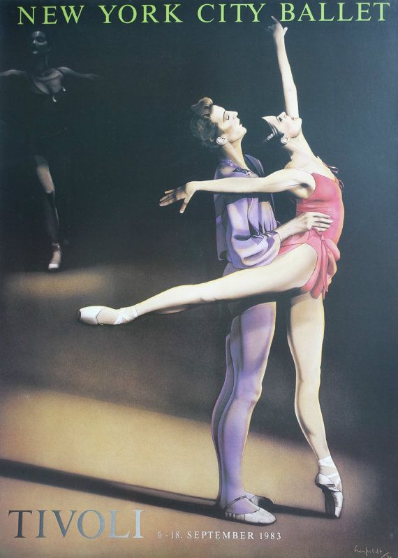 1983 New York City Ballet in Tivoli  Original by OutofCopenhagen