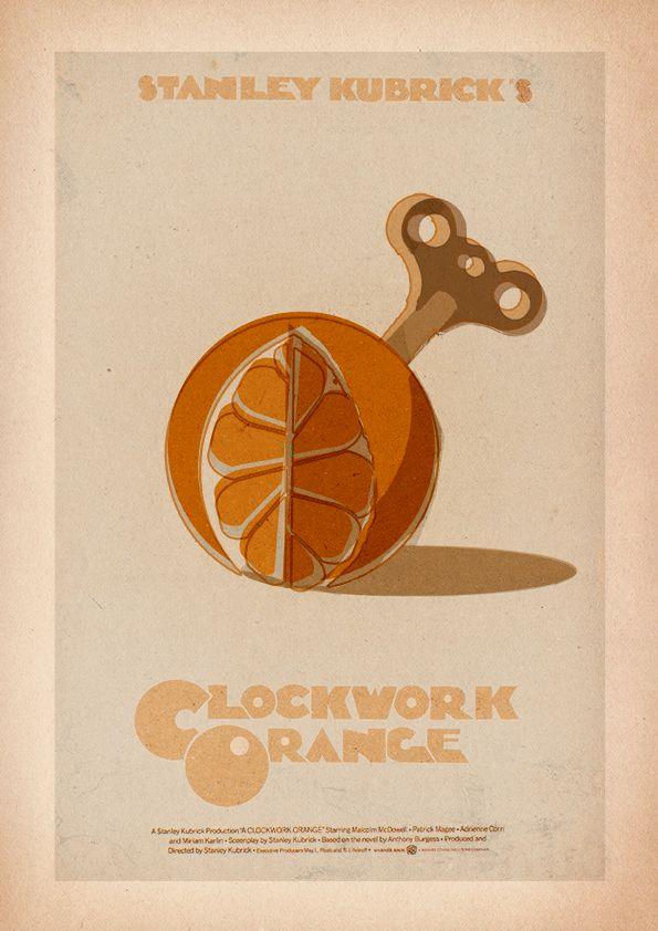 A Clockwork Orange - Minimalist Poster by 3ftDeep