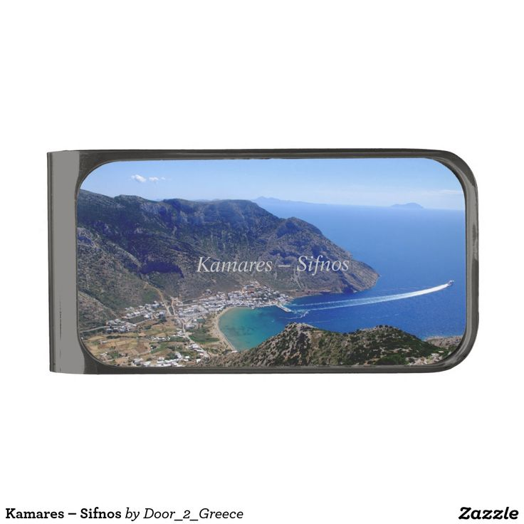 Kamares – Sifnos Gunmetal Finish Money Clip