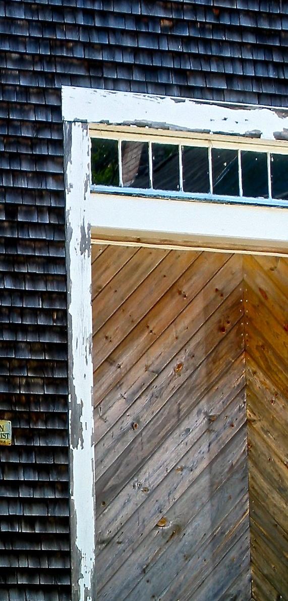 New England barn door