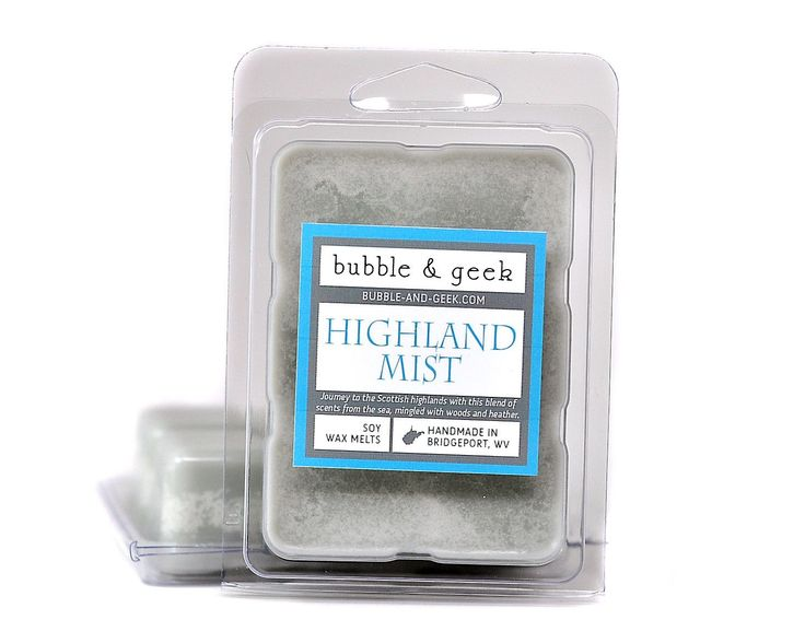 Highland Mist Scented Soy Wax Melts